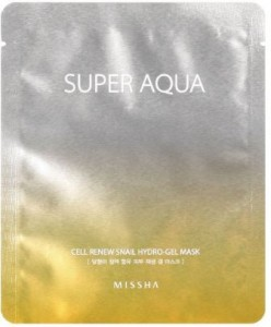 Beauty Box Product Review: MISSHA Super Aqua Cell Renew Snail Hydro-Gel Mask