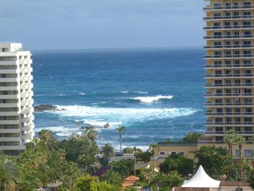 Ocean View from Puerto de la Cruz