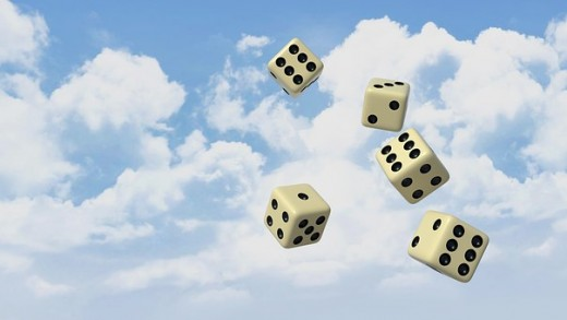 Fate - in the end we make choices - we roll the dice and fate decides.