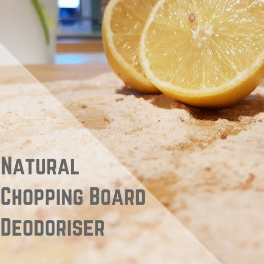 Natural Chopping Board Deodoriser.