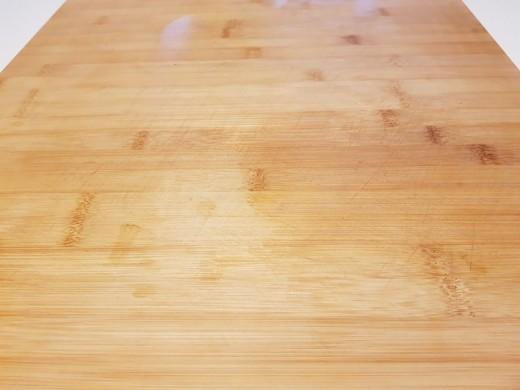 Clear Wooden Chopping Board