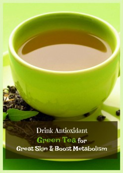Benefits of Drinking Green Tea for Skin and Weight Loss