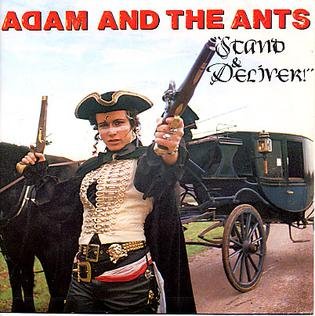 Adam Ant's successful single & album. Give us your money!