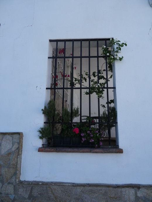 Windows, so typically Spanish, are a tourist sight-seeing opportunity all on their own.