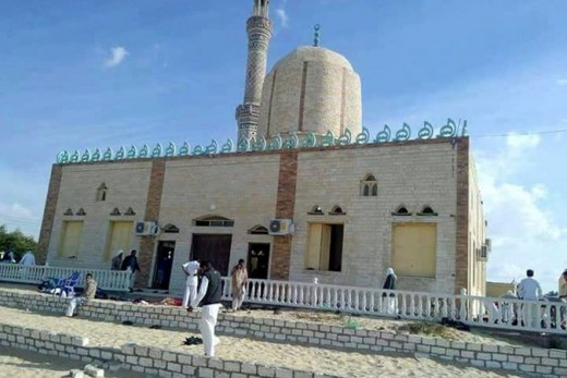 The Msque in this photo seems so peaceful, nobody could ever think that things like this could happen in these places of worship, but the have. Militants Kill 305 at Sufi Mosque in Egypt's Deadliest ...
