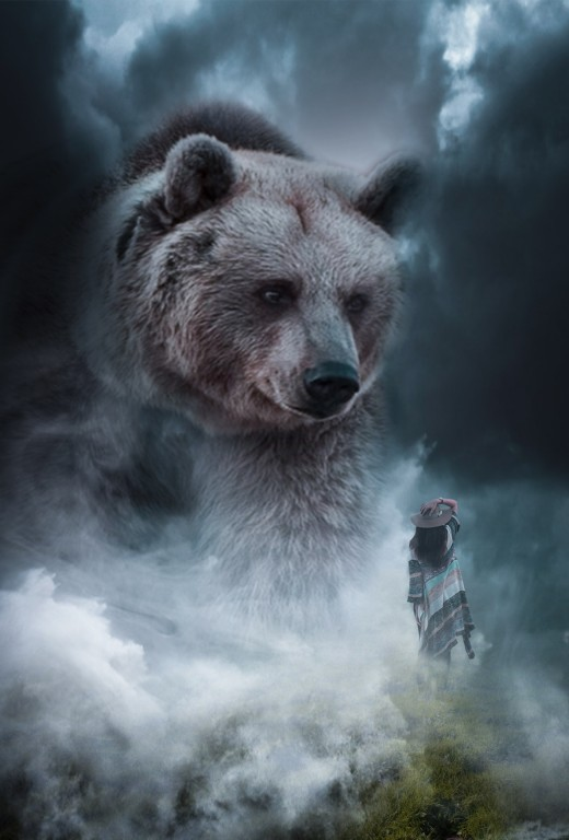 The bear was fierce, and was also a healer. This is most likely why gods and goddesses were associated with the bear.