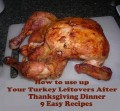 How to Use up Chicken & Turkey Leftovers After Your Thanksgiving Dinner: Eight Quick Easy Recipes