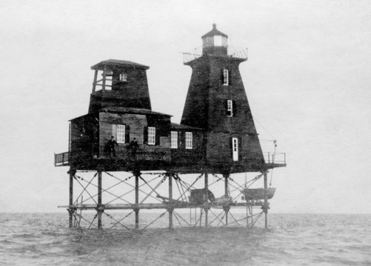 Southwest Reef Lighthouse, Berwick, LA