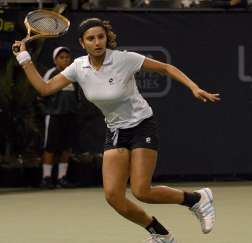 Sania's tennis