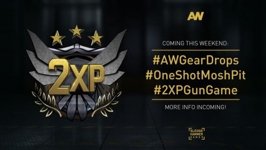 (Image: Double XP for AW) - Double XP has been a special occasion that has long been enjoyed within the Call of Duty (multiplayer) franchise, as it helps players to boost their levels quicker so that they may prestige sooner.