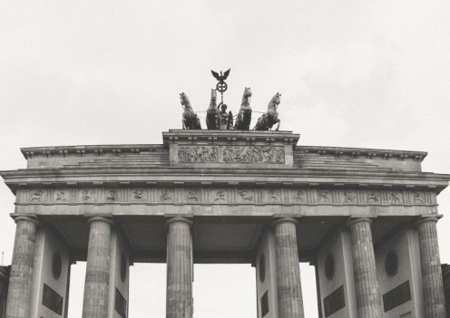 Brandenburg gate (Architecture and Cityscape, Black and White, Travel Locations)