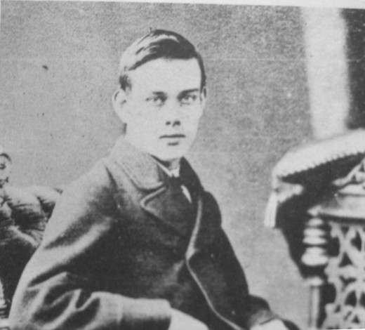 Francis Thompson as a young man.