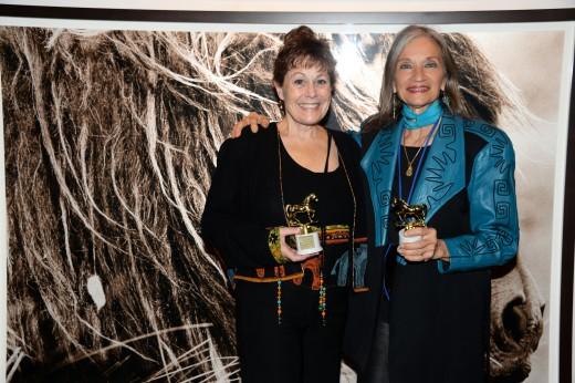 Lisa Diersen, EQUUS Film Festival founder and director with Diana De Rosa, co-organizer.