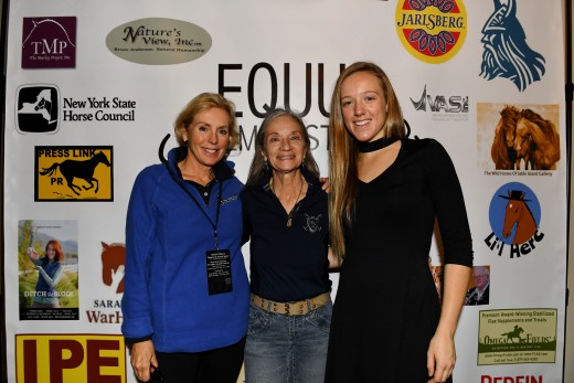 Jacqueline Osborn, Diana De Rosa and Joanie Kabbes.