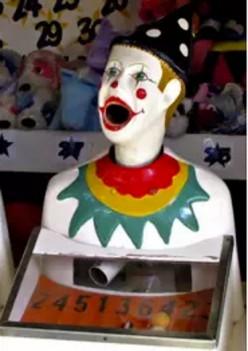 Clowns scare me!