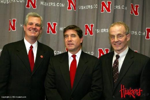 Steve Pederson, Bill Callahan, and Harvey Perlman