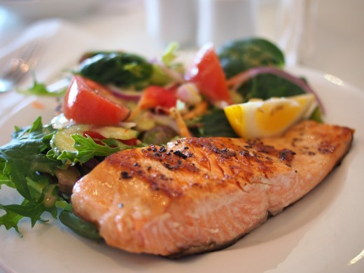 Salmon—a rich source of Omega-3