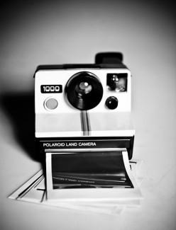 Ed Has a Polaroid of a Photograph