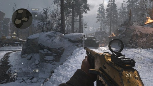 "(Image - Call of Duty: WWII screenshot from in-game) - ""WWII"" has the smoothest gameplay shooter experience yet, and the fun that can be had online in WWII's multiplayer is truly vast"