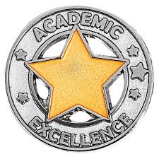 Academic excellence medal.