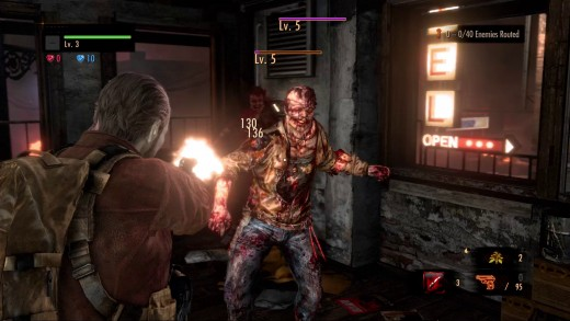 (Image - Resident Evil: Revelations screenshot of in-game footage) - the evil returns, and that means it time for yet more Resident Evil gaming