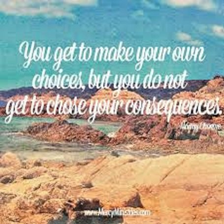 Choices Have Consequences: You get to Make Your Own ...