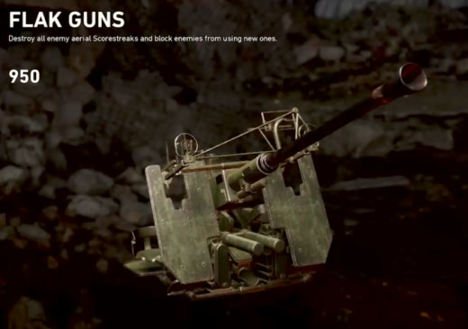In-game description of Flak Guns.