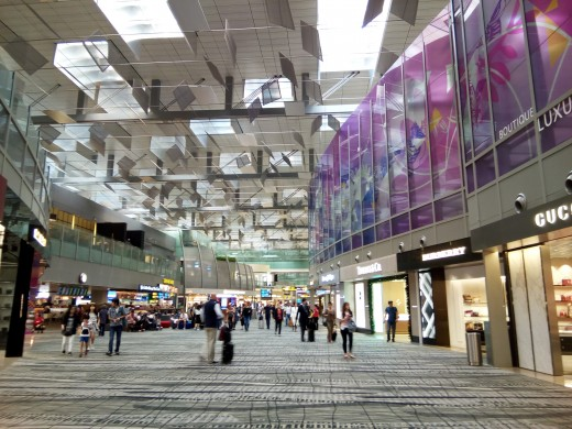Shops in the Transit Area at Terminal 3