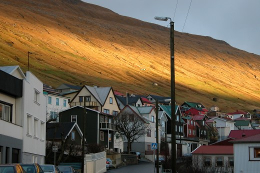Viral marketing spread the word about the beautiful scenery of the Faroe Islands.