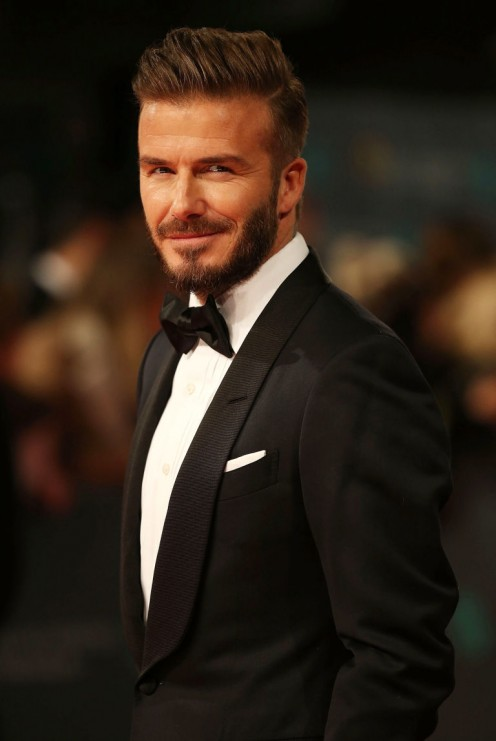 Famous footballer David Beckham is a Taurus