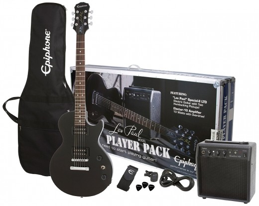 The Epiphone Les Paul Player Pack: All you need to start playing guitar today!