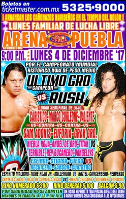 Semi-Fun: News and Notes from CMLL Puebla