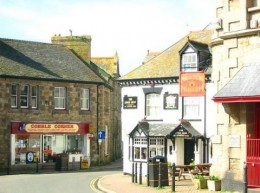 Cobble Corner, in the heart of the village