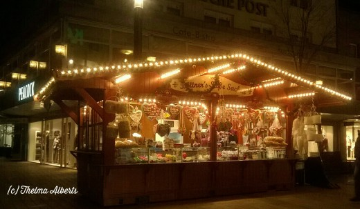 Christmas Market in Wesel, Germany.