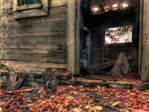 Old Wooden Shack (30, Oct., 2016)