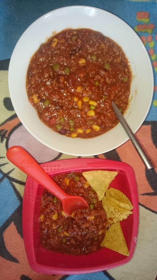 A gluten free vegan chilli full of natural wholesome ingredients.