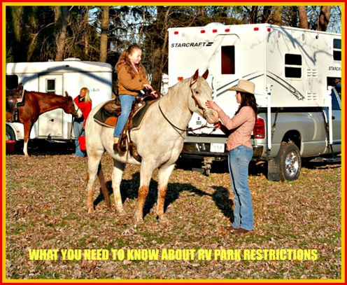 How to Deal with Campgrounds That Restrict RVer Access