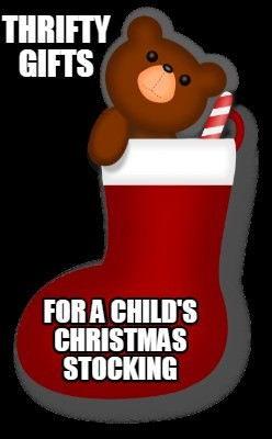 Thrifty Gifts for a Child's Christmas Stocking