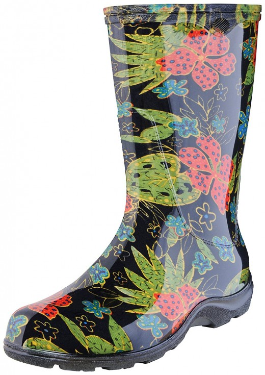 Gardening boots and clothing help a gardener in many ways
