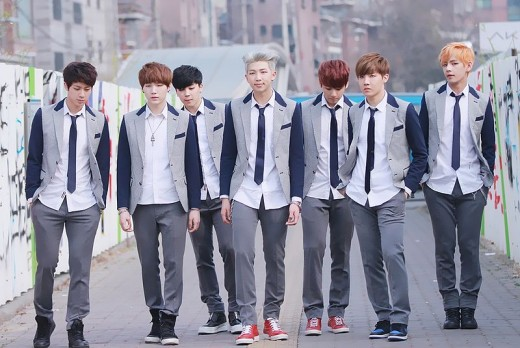 Korean pop group, BTS, one of the popular groups who claim the infatuation of teenage girls.