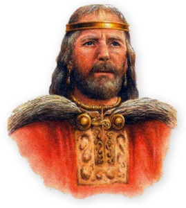 Because the battle unfolded on Good Friday King Brian Boru refused to take part in the fighting. A mall party of Norsemen attacked his encampment and he was slain along with a young kinsman. For the Norseman who slew him it proved to be suicide
