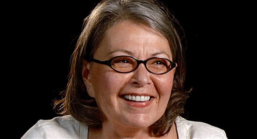Roseanne Barr was locked up in a psychiatric hospital for eight months.
