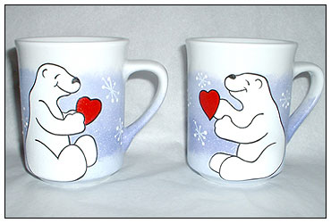 matching mug - front