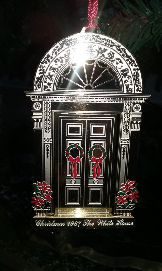 The 1987 White House Ornament