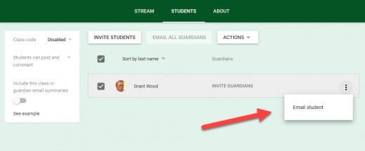 Google classroom guide for educators owlcation teachers can email individual students or the whole class from classroom fandeluxe Images