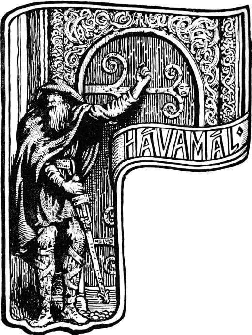 Havamal, the collection of Norse observations and received wisdom