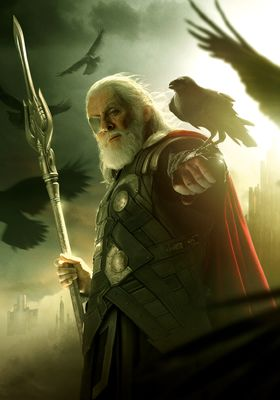 Courtesy of Marvel Studios.  Odin Borson, SOn of Bor, Father of Hela, Thor, and Loki (adopted),All-Father, King of Asgard.