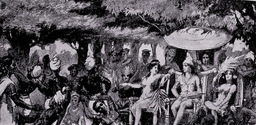 Chandragupta marries daughter Helen of Selecuous
