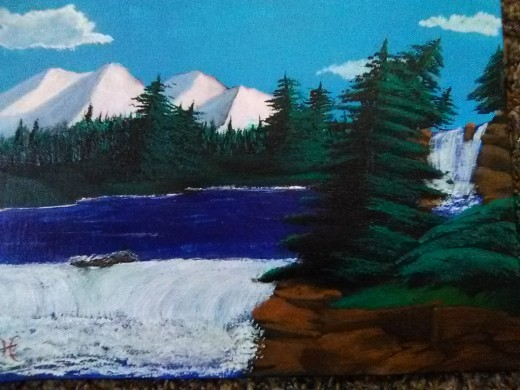 A Pacific Northwest painting I just completed.