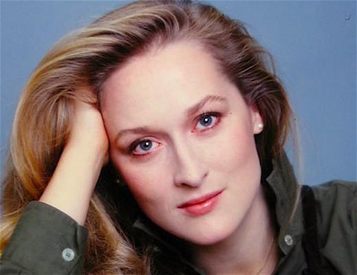 Meryl Streep -- ageless actress extraordinaire.